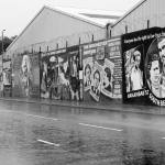 Falls Rd Murals Belfast, Ireland | black and white photography by Jacqueline LaRocca