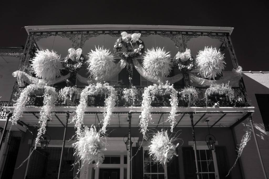 French Quarter Balcony | black & white photography
