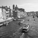 Grand Canal, Venice, Italy | fine art infrared black and white photography by Jacqueline LaRocca