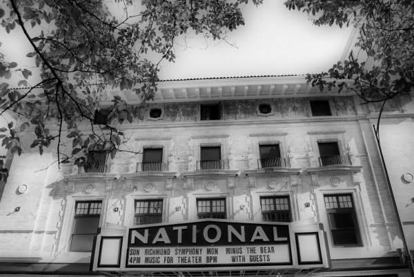 National Theater, Richmond, Virginia | black & white photography |