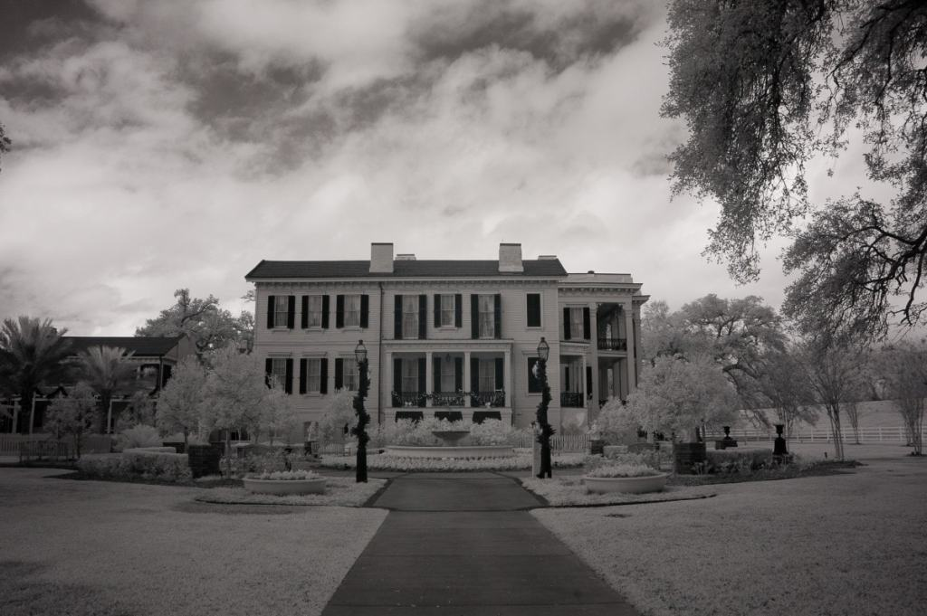 Nottoway Plantation |  black & white photography
