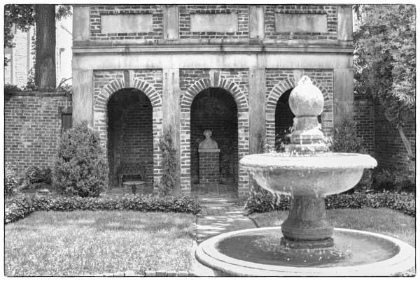 Poe Museum, Richmond, Virginia | black & white photography |