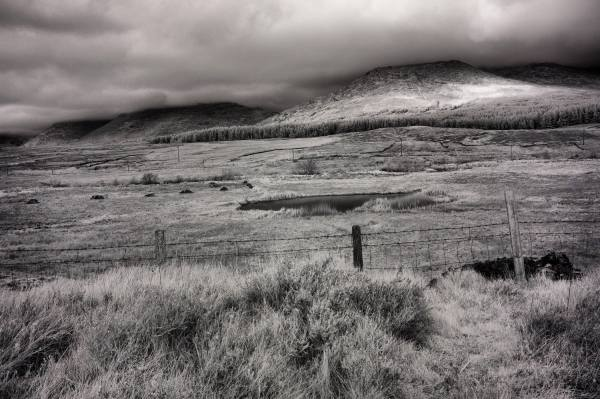 Ring of Kerry, Ireland | black & white infrared photography |