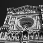 The Duomo in Florence, The Cathedral of Santa Maria del Fiora, Italy | fine art black and white photography by Jacqueline LaRocca|