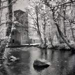 Thoor Ballylee, Home of William Butler Yeats, Galway, Ireland | infrared black and white photography by Jacqueline LaRocca