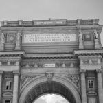 Triumphal Arch of the Lorraine, Florence, Italy | fine art black and white photography by Jacqueline LaRocca
