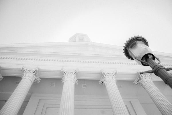 Virginia State Capitol | black & white photography |