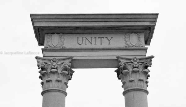 Unity Memorial Arch at Bennett Place, Durham, North Carolina