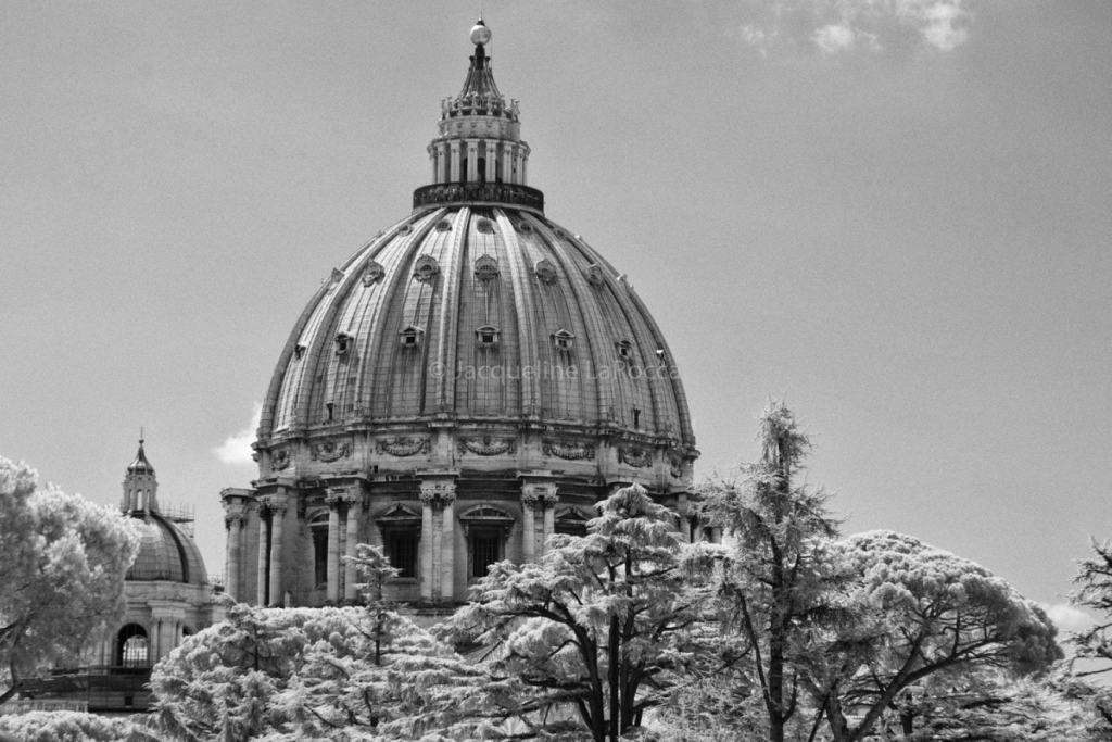 St. Peter's Basilica   black and white photography