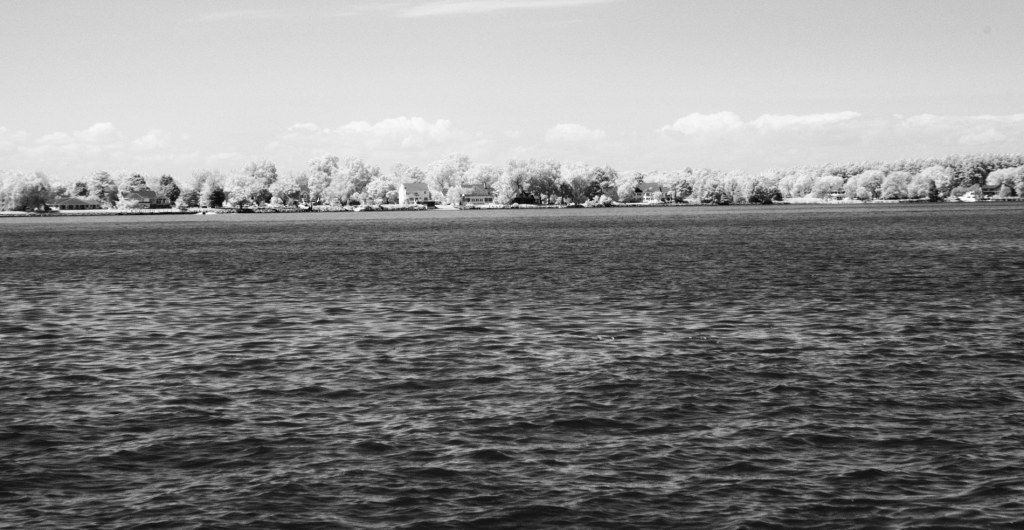 Tred Avon River Oxford MD-2 | black and white photography print by Jacqueline LaRocca