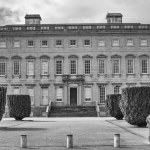 Castletown House, Kildare, Ireland | fine art infrared black and white photography by Jacqueline LaRocca