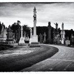 Glasnevin Cemetery Monuments, Dublin, Ireland fine art black and white photography by Jacqueline LaRocca