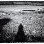 My Shadow, Wicklow, Ireland fine art infrared black and white photography by Jacqueline LaRocca Photography