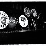 Tap Markers, Dublin, Ireland black and white photography by Jacqueline LaRocca