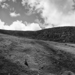Wicklow Mountain, Ireland fine art black and white photography by Jacqueline LaRocca